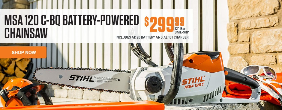 MSA 120 C-BQ Battery-Powered Chainsaw